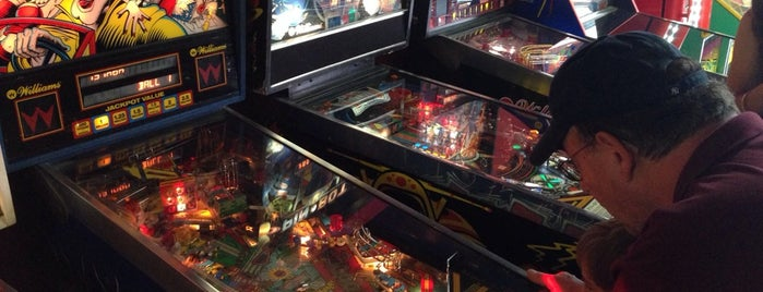 YESTERcades of Somerville is one of Pinball Destinations.