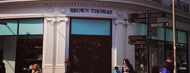 Brown Thomas is one of Ireland.