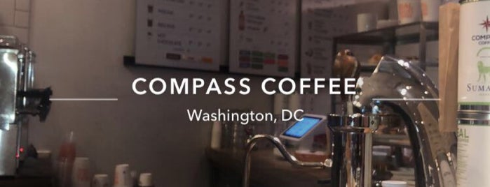 Compass Coffee is one of Lugares favoritos de IS.