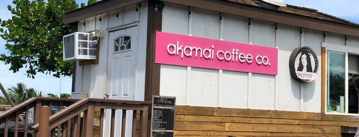 Akamai Coffee is one of Lugares favoritos de Mark.