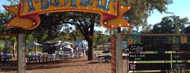The Midway Food Park is one of Austin!.