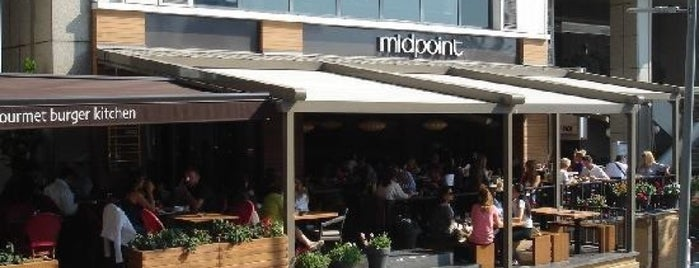 Midpoint is one of Bistro.
