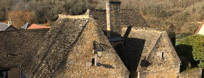 Saint-Amand-de-Coly is one of Les plus beaux villages de France.