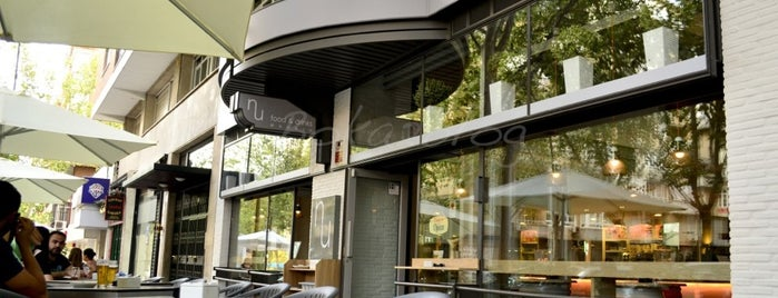 NU food & drink is one of MADRID 2.