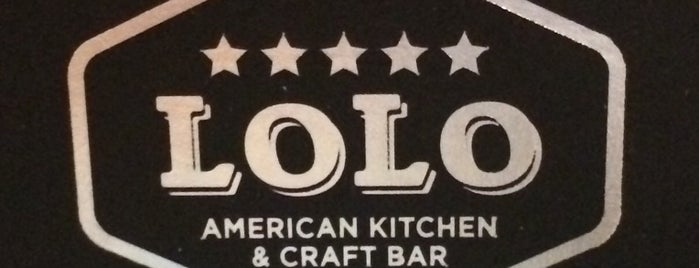 LOLO:  American Kitchen & Craft Bar is one of Orte, die Hugo gefallen.