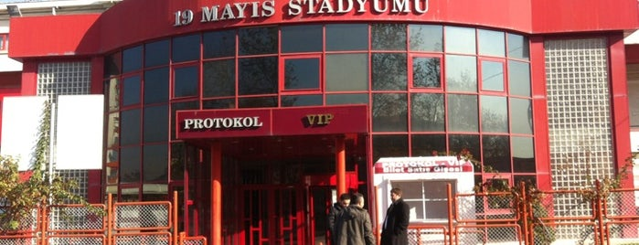 19 Mayıs Stadyumu is one of themaraton.