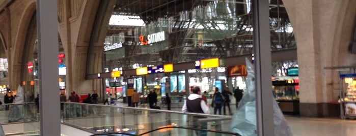 Promenaden Hauptbahnhof Leipzig is one of Locais curtidos por Jens.