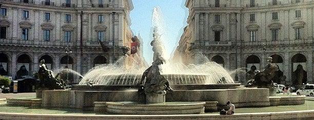Piazza della Repubblica is one of Rome / Roma.