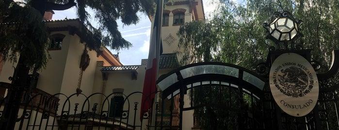 Consulado General  de México is one of Tempat yang Disukai Marco.