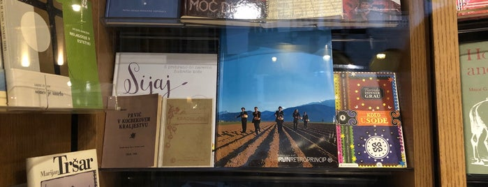 Mladinska knjiga is one of Ljubljana.