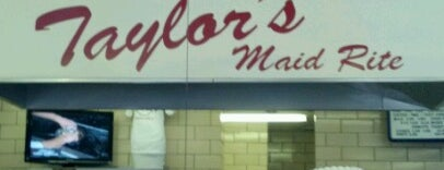Taylor's Maid-Rite is one of Best Burgers Around the Country.