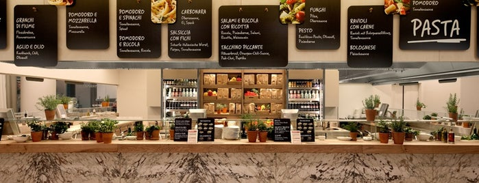 Vapiano is one of Hello, Amsterdam.