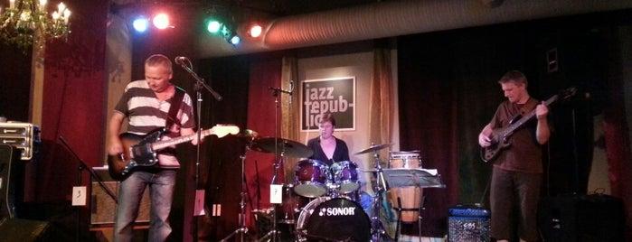 Jazz Republic is one of Jazz clubs.