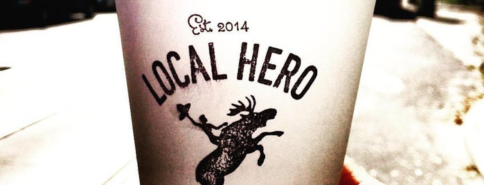 Local Hero is one of Indie Coffee Shops in Toronto.