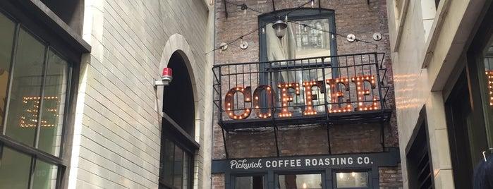Pickwick Coffee Roasting co. is one of Orte, die David gefallen.