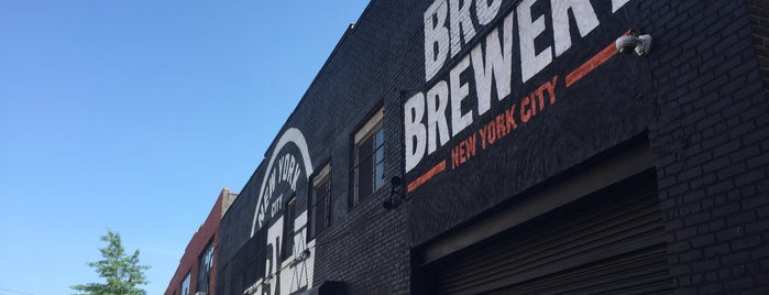 The Bronx Brewery is one of Outdoor space.