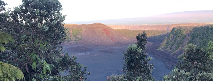 Kīlauea Iki Crater Overlook is one of HAWAII.