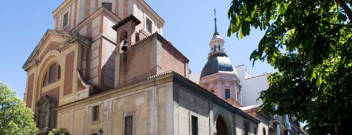 Iglesia de San Sebastian is one of El Madrid de Lope de Vega.
