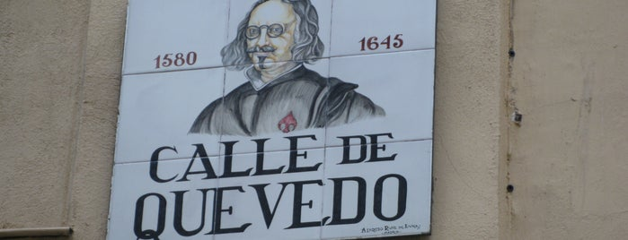 Quevedo is one of El Madrid de Lope de Vega.