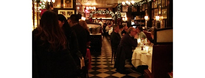 Minetta Tavern is one of The New Yorkers: Village Life.