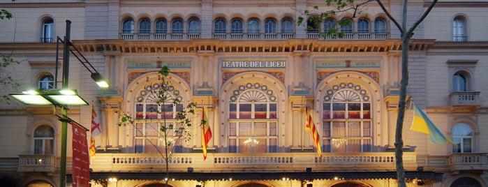Liceu Opera Barcelona is one of Spain. Barcelona.