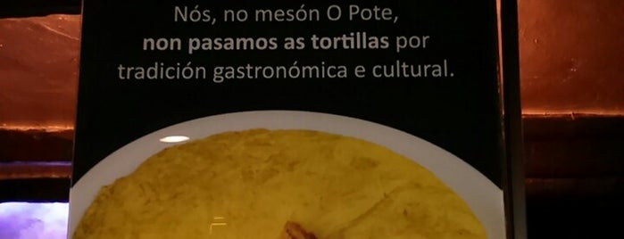 Mesón O Pote is one of 2018_daprovare.