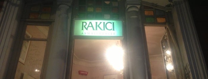 Rakıcı is one of Beyoglu.