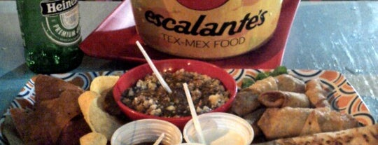 Escalante's Tex-Mex Food is one of Vale a pena conhecer.
