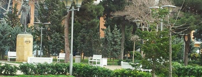 Puşkin Parkı is one of Baku.