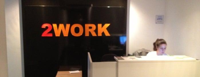 2WORK Campinas Escritório Profissional & Coworking is one of Espaços de coworking.