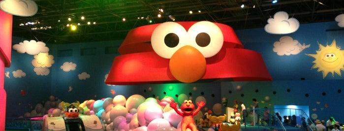 Elmo's Imagination Playland is one of Universal Studios Japan.