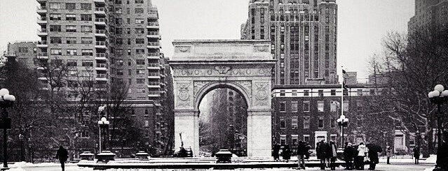 Washington Square Park is one of Late Nights in NYC.