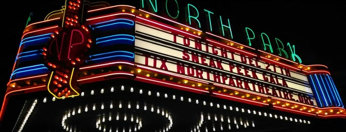 North Park Theatre is one of Places.