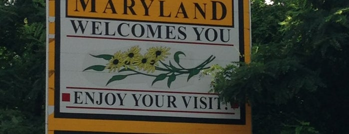 Maryland / Virginia State Line is one of OUT OF TTTTOWN.