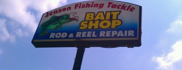 Jenson Fishing Tackle is one of Shopping/Services.