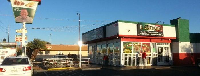El Guero Canelo is one of El Paso and New Mexico.