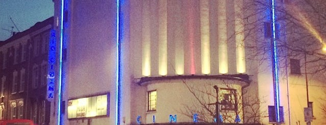 Rio Cinema is one of Hackney, London.