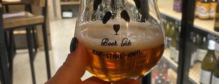 Beer Gik Craft Beer Store is one of Tempat yang Disukai Vlad.