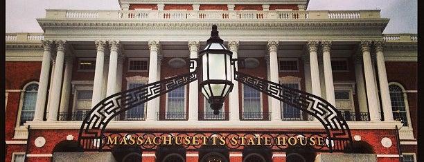 マサチューセッツ州会議事堂 is one of Boston.