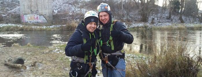 Роупджампинг is one of Posti che sono piaciuti a Nadezhda.