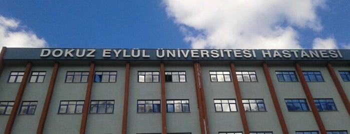 Dokuz Eylül Üniversitesi Hastanesi is one of สถานที่ที่ Bora ถูกใจ.