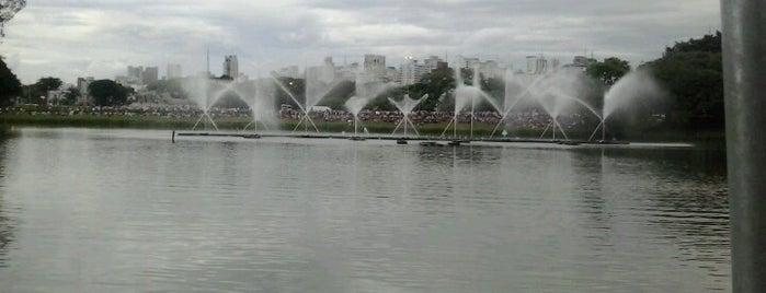 Parque Ibirapuera is one of Sampa.