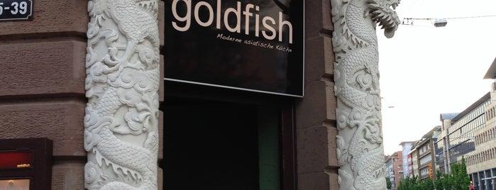 Goldfish is one of Lieux sauvegardés par Sven.