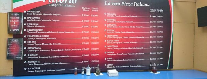 Pizzas donde Vittorio is one of Comida.