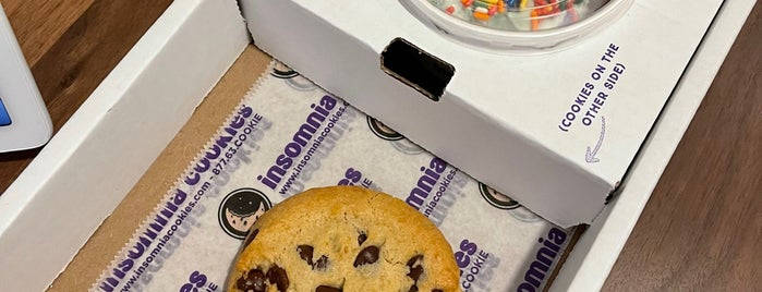 Insomnia Cookies is one of New York.