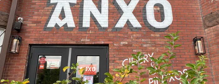 ANXO Cidery & Pintxos Bar is one of puffins last call.
