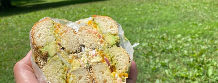 Modern Bread & Bagel is one of NYC GF.