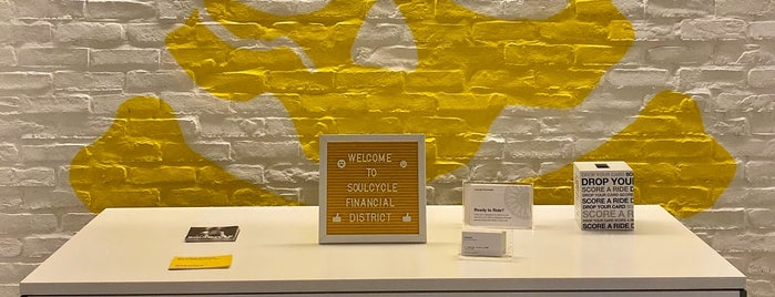 SoulCycle FiDi is one of Siovonneさんのお気に入りスポット.