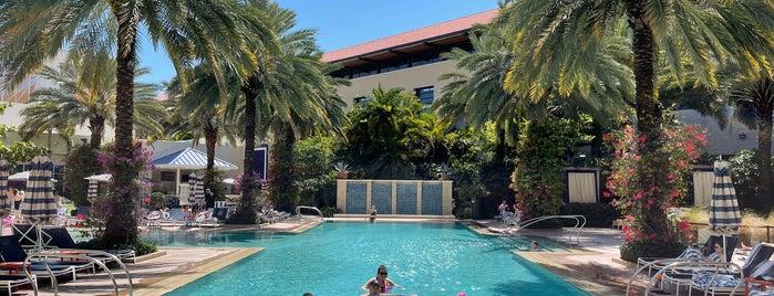 Hilton West Palm Beach is one of Michael 님이 좋아한 장소.