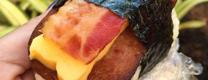 Musubi Cafe IYASUME is one of The Best Breakfast Spot in Every State.